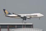 kuro2059さんが、香港国際空港で撮影したシンガポール航空カーゴ 747-412F/SCDの航空フォト(飛行機 写真・画像)