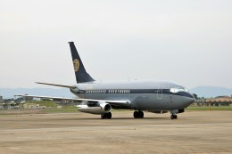 TADY BEARさんが、名古屋飛行場で撮影したスカイ・アヴィエーション 737-2W8/Advの航空フォト(飛行機 写真・画像)