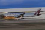 TAK_HND_NRTさんが、成田国際空港で撮影したカタール航空 777-2DZ/LRの航空フォト(飛行機 写真・画像)