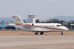 髪刈虫(かみきりむし)さんが、名古屋飛行場で撮影したHornbill Skyways CL-600-2B16 Challenger 605の航空フォト(飛行機 写真・画像)