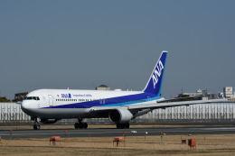 どんちんさんが、伊丹空港で撮影した全日空 767-381/ERの航空フォト(飛行機 写真・画像)