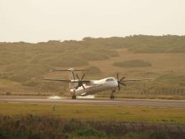 平城山さんが、与那国空港で撮影した琉球エアーコミューター DHC-8-402Q Dash 8 Combiの航空フォト(飛行機 写真・画像)