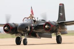 キャスバルさんが、キャノン空軍基地で撮影したCommemorative Air Force A-26B Invaderの航空フォト(飛行機 写真・画像)