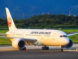 WAiRさんが、熊本空港で撮影した日本航空 787-8 Dreamlinerの航空フォト(飛行機 写真・画像)