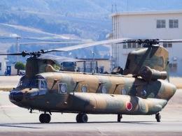 WAiRさんが、熊本空港で撮影した陸上自衛隊 CH-47JAの航空フォト(飛行機 写真・画像)
