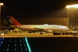Cherry blossoms さんが、関西国際空港で撮影したユニ・トップエアラインズ A300B4-605Rの航空フォト(飛行機 写真・画像)