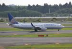 mojioさんが、成田国際空港で撮影したコンチネンタル航空 737-824の航空フォト(飛行機 写真・画像)