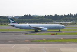 mojioさんが、成田国際空港で撮影したキャセイパシフィック航空 A330-343Xの航空フォト(飛行機 写真・画像)