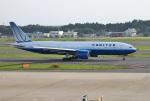 mojioさんが、成田国際空港で撮影したユナイテッド航空 777-222/ERの航空フォト(飛行機 写真・画像)