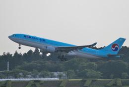 mojioさんが、成田国際空港で撮影した大韓航空 A330-223の航空フォト(飛行機 写真・画像)