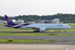 mojioさんが、成田国際空港で撮影したタイ国際航空 777-35R/ERの航空フォト(飛行機 写真・画像)