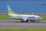 ちゃぽんさんが、中部国際空港で撮影したAIR DO 737-781の航空フォト(飛行機 写真・画像)