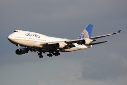 LEGACY-747さんが、成田国際空港で撮影したユナイテッド航空 747-451の航空フォト(飛行機 写真・画像)