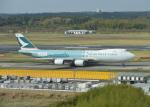 銀苺さんが、成田国際空港で撮影したキャセイパシフィック航空 747-867F/SCDの航空フォト(飛行機 写真・画像)