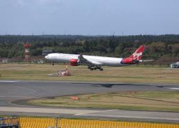 銀苺さんが、成田国際空港で撮影したヴァージン・アトランティック航空 A340-642の航空フォト(飛行機 写真・画像)