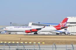 LEGACY-747さんが、成田国際空港で撮影したヴァージン・アトランティック航空 A340-313の航空フォト(飛行機 写真・画像)