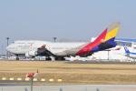 LEGACY-747さんが、成田国際空港で撮影したアシアナ航空 747-48EMの航空フォト(飛行機 写真・画像)