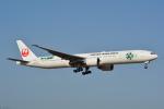 LEGACY-747さんが、成田国際空港で撮影した日本航空 777-346/ERの航空フォト(飛行機 写真・画像)