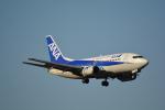 LEGACY-747さんが、成田国際空港で撮影したANAウイングス 737-54Kの航空フォト(飛行機 写真・画像)