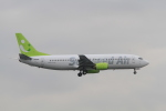 TAK_HND_NRTさんが、羽田空港で撮影したソラシド エア 737-46Mの航空フォト(飛行機 写真・画像)