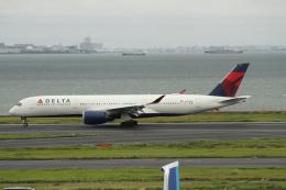G-BNLYさんが、羽田空港で撮影したデルタ航空 A350-941XWBの航空フォト(飛行機 写真・画像)
