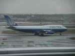 G-BNLYさんが、フランクフルト国際空港で撮影したユナイテッド航空 747-422の航空フォト(飛行機 写真・画像)