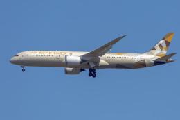 mameshibaさんが、成田国際空港で撮影したエティハド航空 787-9の航空フォト(飛行機 写真・画像)