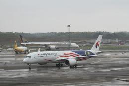 G-BNLYさんが、成田国際空港で撮影したマレーシア航空 A350-941XWBの航空フォト(飛行機 写真・画像)