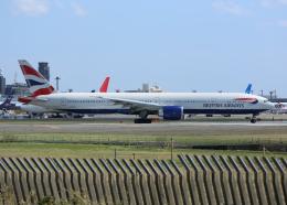 銀苺さんが、成田国際空港で撮影したブリティッシュ・エアウェイズ 777-36N/ERの航空フォト(飛行機 写真・画像)