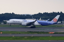 aki241012さんが、成田国際空港で撮影したチャイナエアライン A350-941XWBの航空フォト(飛行機 写真・画像)