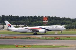 aki241012さんが、成田国際空港で撮影したマレーシア航空 A350-941XWBの航空フォト(飛行機 写真・画像)