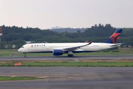aki241012さんが、成田国際空港で撮影したデルタ航空 A350-941XWBの航空フォト(飛行機 写真・画像)