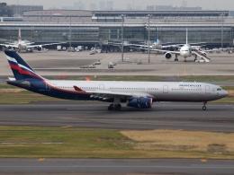 FT51ANさんが、羽田空港で撮影したアエロフロート・ロシア航空 A330-343Xの航空フォト(飛行機 写真・画像)