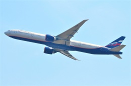amagoさんが、スワンナプーム国際空港で撮影したアエロフロート・ロシア航空 777-3M0/ERの航空フォト(飛行機 写真・画像)