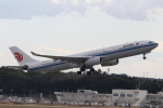 ANA744Foreverさんが、成田国際空港で撮影した中国国際航空 A330-343Xの航空フォト(飛行機 写真・画像)