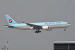 kuro2059さんが、香港国際空港で撮影した大韓航空 777-2B5/ERの航空フォト(飛行機 写真・画像)