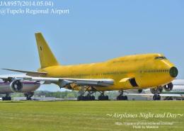 masarunphotosさんが、テューペロ・リージョナル空港で撮影した全日空 747-481(D)の航空フォト(飛行機 写真・画像)