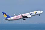 トロピカルさんが、羽田空港で撮影したスカイマーク 737-86Nの航空フォト(飛行機 写真・画像)