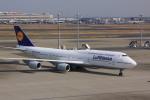 けいとパパさんが、羽田空港で撮影したルフトハンザドイツ航空 747-830の航空フォト(飛行機 写真・画像)
