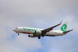 kenzy201さんが、リスボン・ウンベルト・デルガード空港で撮影したトランサヴィア・フランス 737-8GJの航空フォト(飛行機 写真・画像)