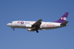 かずまっくすさんが、成田国際空港で撮影したYTOカーゴ・エアラインズ 737-36Q(SF)の航空フォト(飛行機 写真・画像)