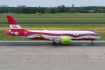 PASSENGERさんが、ベルリン・テーゲル空港で撮影したエア・バルティック A220-300 (BD-500-1A11)の航空フォト(飛行機 写真・画像)