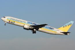 Hariboさんが、羽田空港で撮影したAIR DO 767-33A/ERの航空フォト(飛行機 写真・画像)