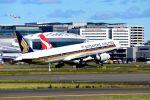 まいけるさんが、シドニー国際空港で撮影したシンガポール航空 777-312/ERの航空フォト(飛行機 写真・画像)