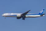 mameshibaさんが、成田国際空港で撮影した全日空 777-381/ERの航空フォト(飛行機 写真・画像)