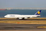 jjieさんが、羽田空港で撮影したルフトハンザドイツ航空 747-830の航空フォト(飛行機 写真・画像)