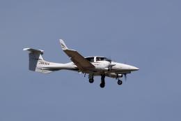TAKAHIDEさんが、新潟空港で撮影したアルファーアビエィション DA42 TwinStarの航空フォト(飛行機 写真・画像)
