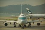 JA8037さんが、香港国際空港で撮影したキャセイパシフィック航空 747-467の航空フォト(飛行機 写真・画像)
