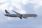 Shin-chaさんが、成田国際空港で撮影したエティハド航空 787-9の航空フォト(飛行機 写真・画像)