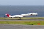 mojioさんが、羽田空港で撮影した日本航空 MD-90-30の航空フォト(飛行機 写真・画像)
